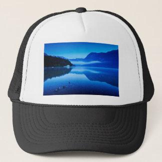 Dawn at Lake Bohinj in Slovenia Trucker Hat