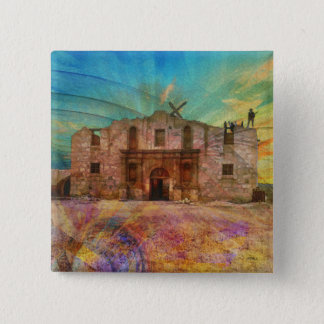 Dawn At The Alamo 15 Cm Square Badge