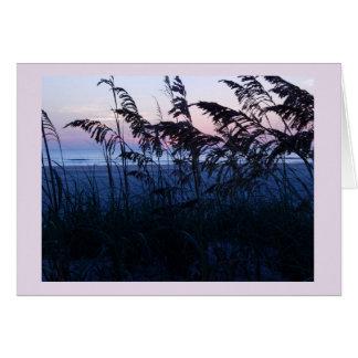 Dawn at the Beach Card