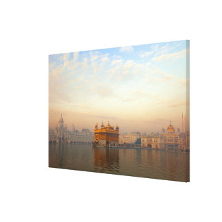 Dawn at the Golden Temple Canvas Print