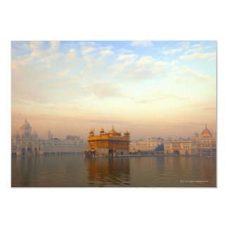 Dawn at the Golden Temple Card