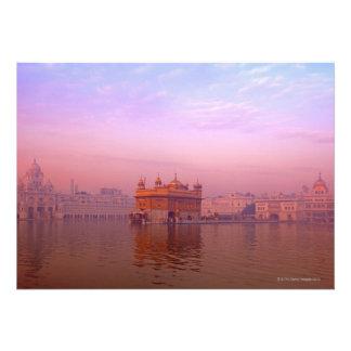 Dawn at The Golden Temple Custom Invite