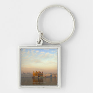 Dawn at the Golden Temple Key Ring