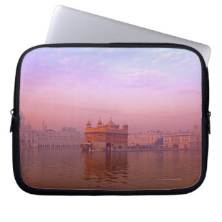 Dawn at The Golden Temple Laptop Sleeve