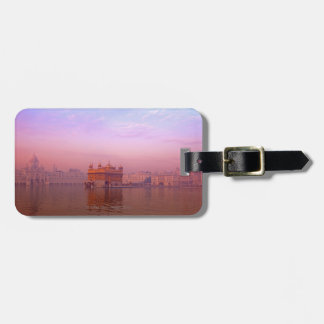 Dawn at The Golden Temple Luggage Tag