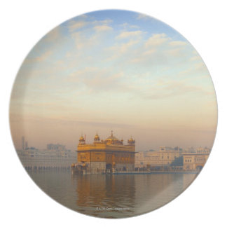 Dawn at the Golden Temple Plate