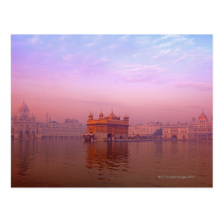 Dawn at The Golden Temple Postcard