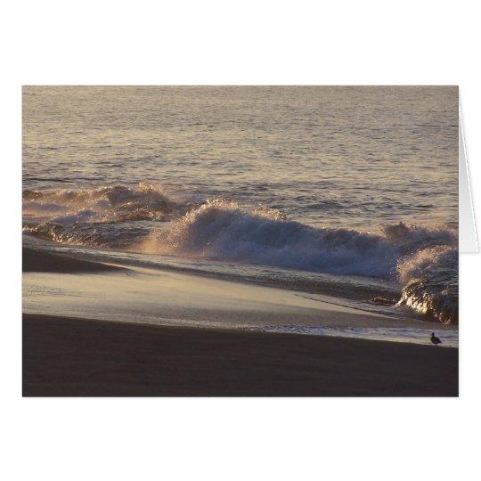 Dawn Beach Card