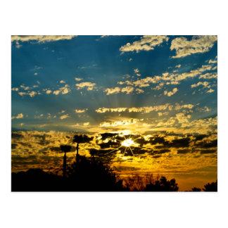 Dawn Breaking over the Mojave Desert Postcard