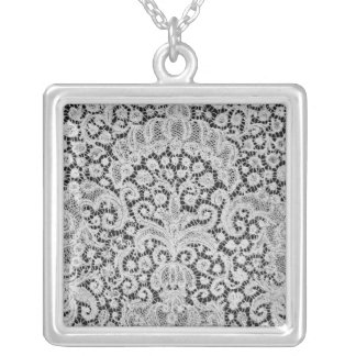 Dawn, Brussels, c.1725-1730 Silver Plated Necklace