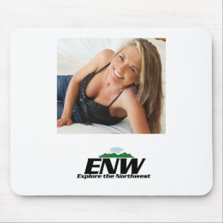 Dawn from the TV show Explore the Northwest Mouse Mat