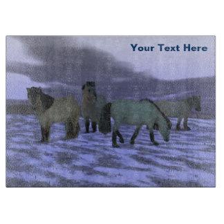 Dawn Horse - Yakutia Cutting Board