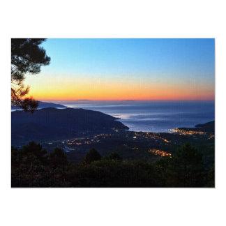 dawn in Elba island Personalized Invites