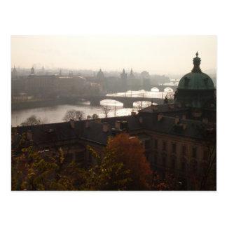 Dawn in Prague Postcard