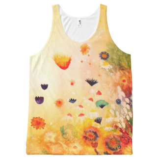 Dawn in Spring. All-Over Print Tank Top