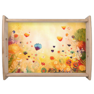 Dawn in Spring. Serving Tray
