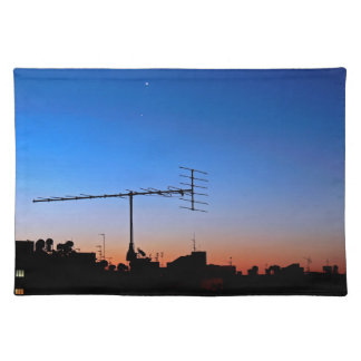 Dawn in the city placemat