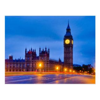 Dawn Light London Postcard