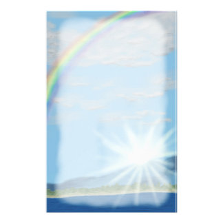 Dawn of a New Promise, Rainbow Stationery