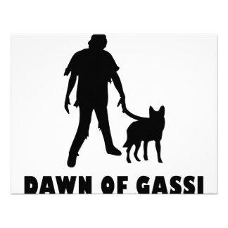 dawn of gassi hund invitations