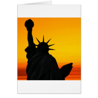 Dawn of Liberty Greeting Card