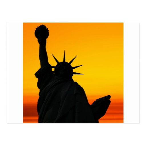 Dawn of Liberty Post Card