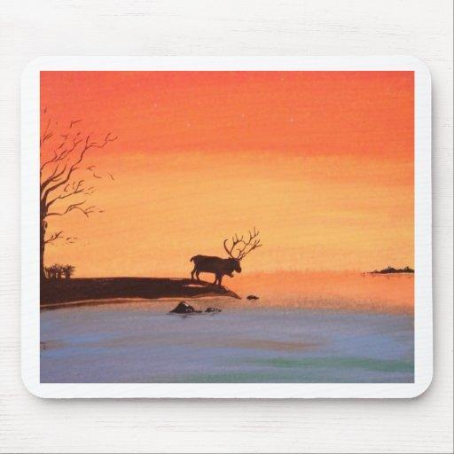 Dawn of Peace_Reindeer_Anjali Sanghi Mouse Pads