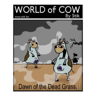 Dawn of the Dead Grass Poster