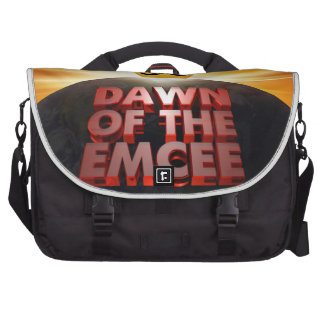Dawn of the Emcee - Commuter Laptop Bag