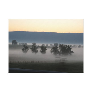 Dawn of the new day canvas print
