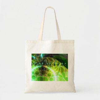 Dawn of Time – Lime & Gold Emerge Canvas Bags