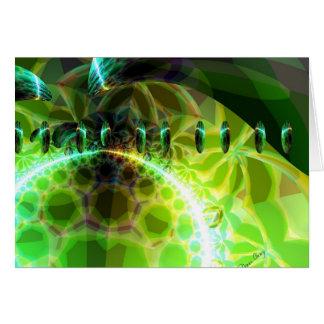 Dawn of Time – Lime & Gold Emerge Card