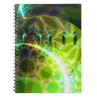 Dawn of Time – Lime & Gold Emerge Note Book