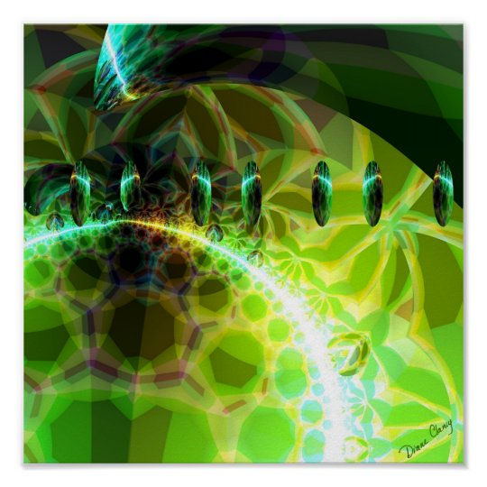 Dawn of Time – Lime & Gold Emerge