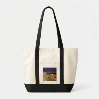 Dawn on Main Street of Bismarck, North Dakota Tote Bag