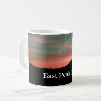 Dawn over East Peak Coffee Mug