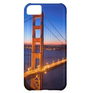 Dawn over San Francisco and Golden Gate Bridge. iPhone 5C Case