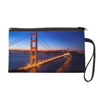 Dawn over San Francisco and Golden Gate Bridge. Wristlets