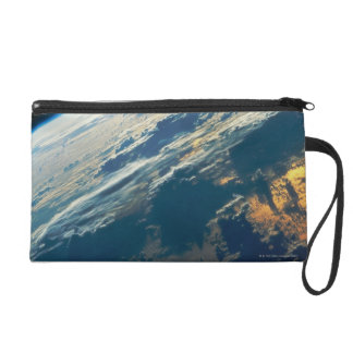 Dawn over the Atlantic Ocean Wristlet Purse