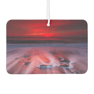 Dawn Over The Stormy Sea Car Air Freshener