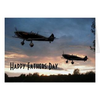 Dawn Patrol, Happy Fathers Day Card