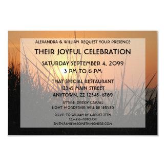 Dawn Sunrise Silhouette Joyful Celebration Invite