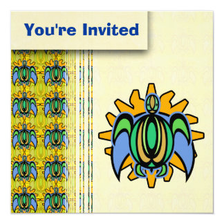 Dawn Turtle Invitations