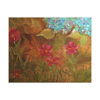 Dawn's Garden Gallery Wrapped Canvas