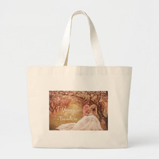 Dawn's Treaders Large Tote Bag