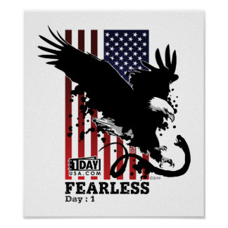 "Day : 1 ""Fearless"" Poster"