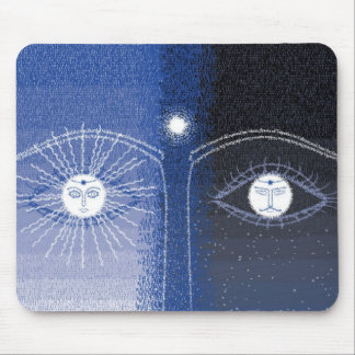 Day and Night mousepad