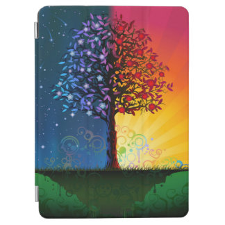 Day And Night Tree iPad Air Cover