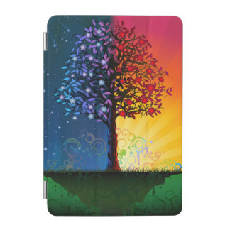 Day And Night Tree iPad Mini Cover