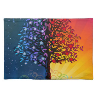 Day And Night Tree Placemat